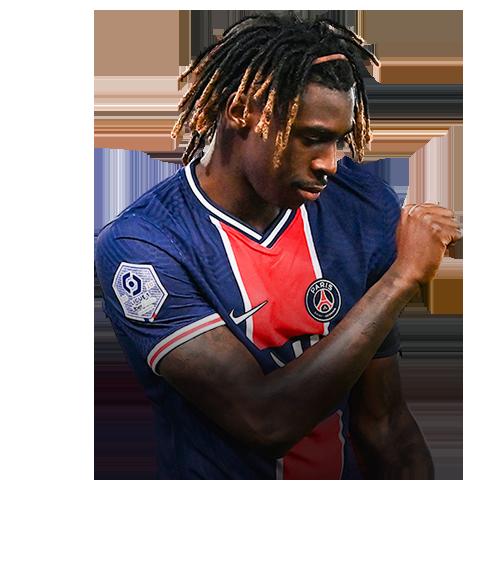 Moise Kean Fifa 21 Inform 74 Rated Futwiz