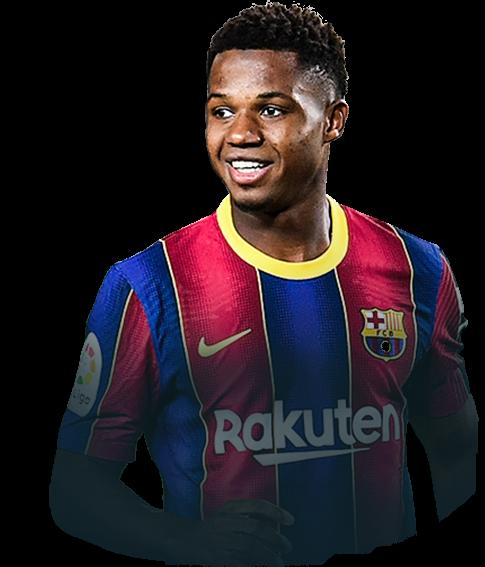 Ansu Fati Fifa 21 La Liga Potm 86 Rated Futwiz