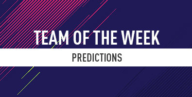 FIFA 18 Team of the Week Prediction: Week 1