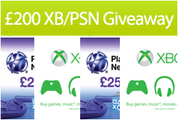 £200 Xbox and PSN giveaway