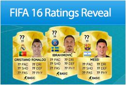 FIFA 16 Ratings Countdown