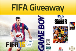 Win FIFA 15 PC and FIFA Gameboy