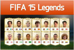 FIFA 15 - New Legend Cards