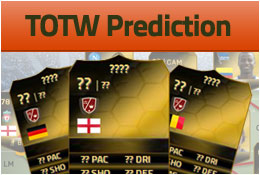 fifaRAWR's FIFA 15 Team of the Week Predictions: Week 45