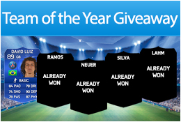 Team of the Year Giveaway