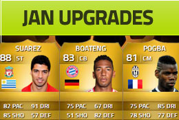 January Upgrades