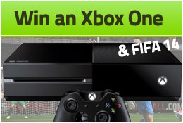 WIN an Xbox One and FIFA 14
